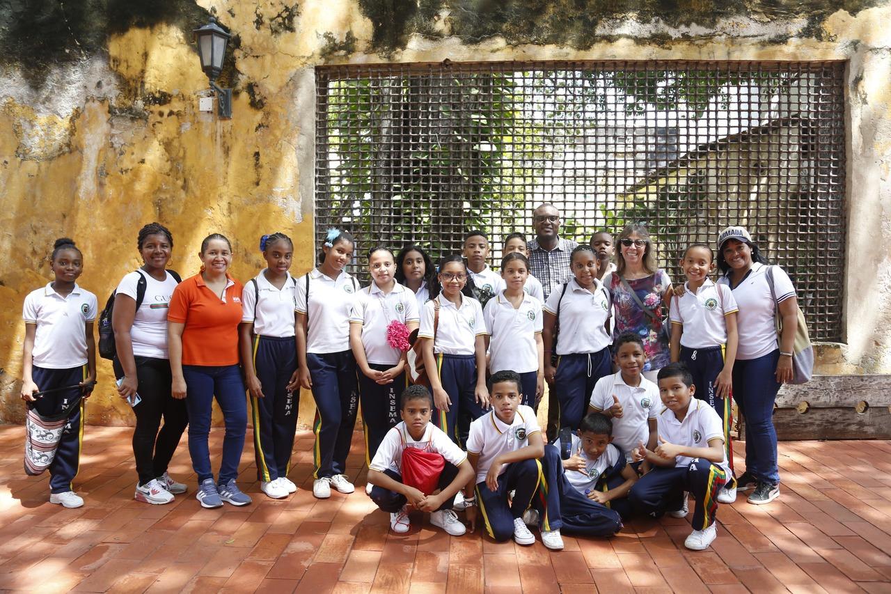 Colegios ASPAEN Gimnasio Cartagena de Indias, I.E Mercedes Abrego y Colegio Nuestra Señora de Fátima.